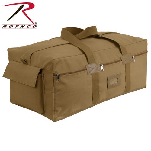 Israeli Duffle Bag - Coyote Brown