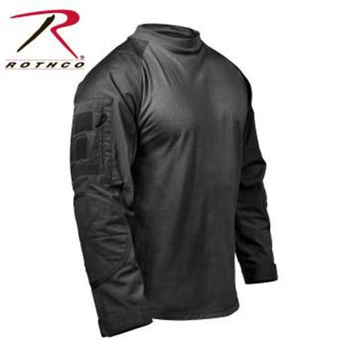 Rothco Tactical Airsoft Combat Shirt - Black