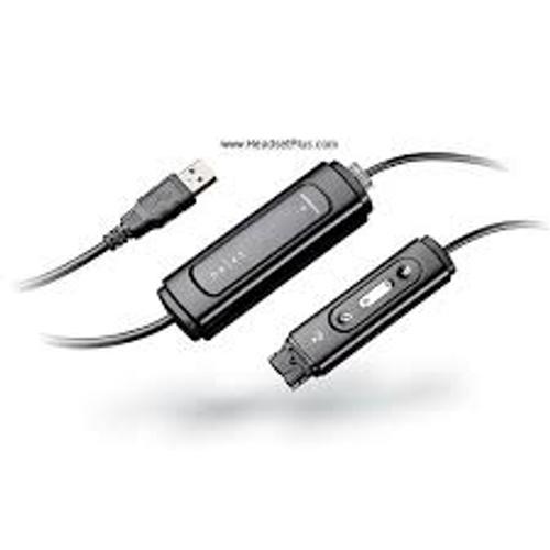 Plantronics DA45 Computer USB Headset Adapter