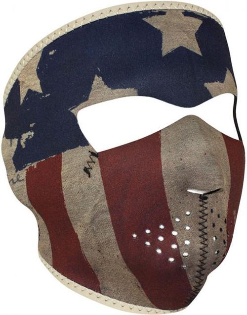 ZAN Neoprene Full Face Mask - Patriot