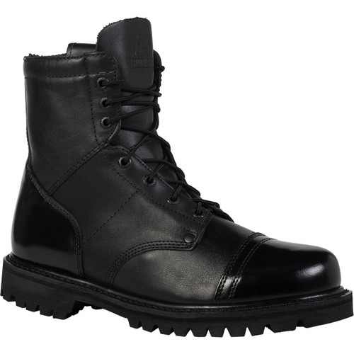 "Rocky Paraboot Side Zip Boot - 7"""