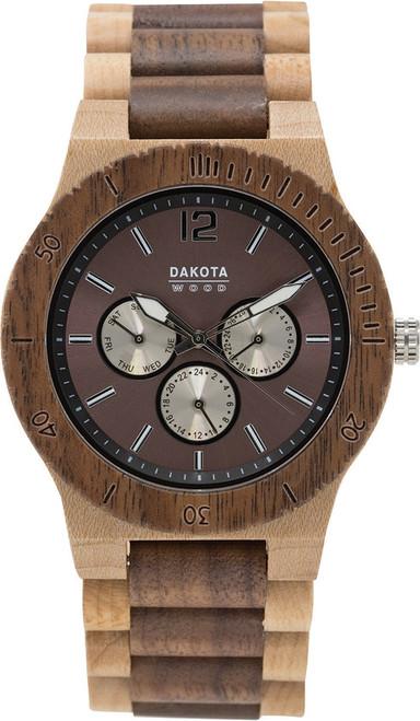 Wood Watch Tan