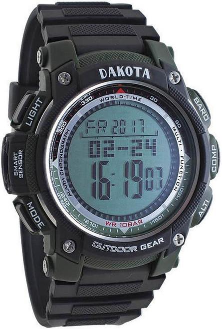 A/B/C Multi Sensor Watch Green