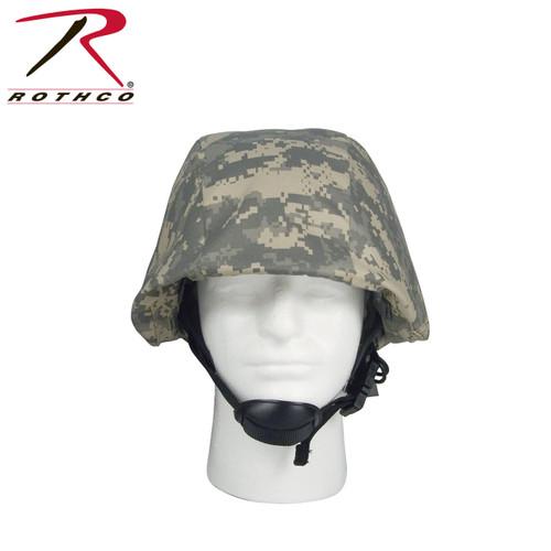 Camouflage Helmet Cover - ACU Digital