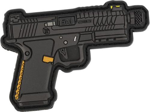 Aprilla Design PVC IFF Hook and Loop Modern Warfare Series Patch (Gun: SAI BLU)