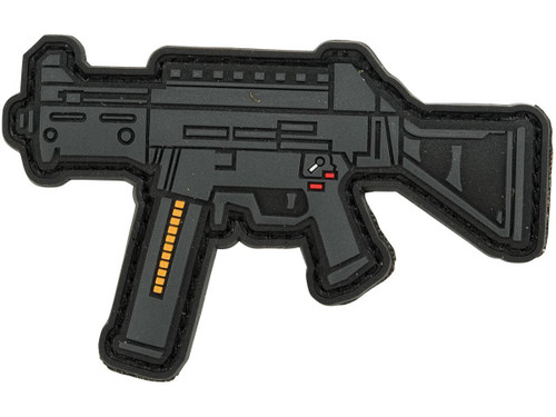 Aprilla Design PVC IFF Hook and Loop Modern Warfare Series Patch (Gun: UMP)