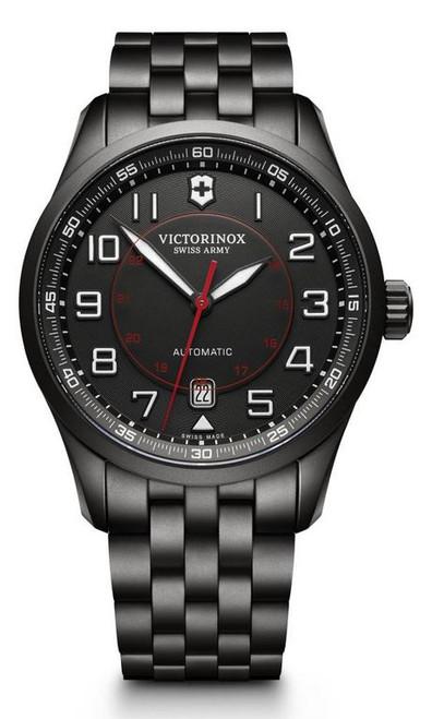 Victorinox AirBoss Mechanical SS Bracelet - Black