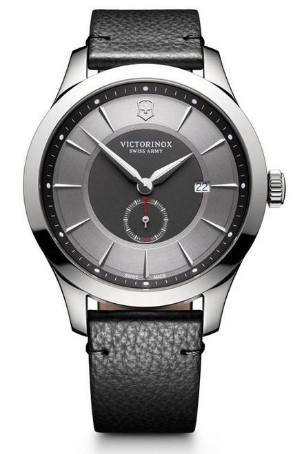 Victorinox Alliance Leather Strap - Gray