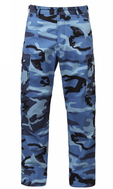Hero Brand BDU Pants - Sky Blue Camo