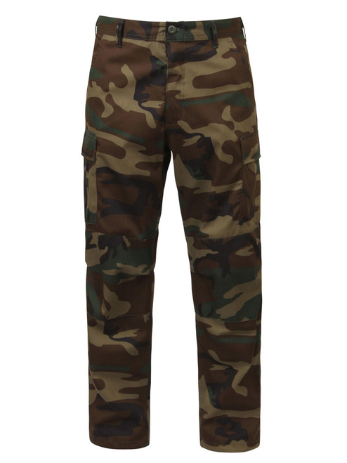 Hero Brand BDU Pants - Woodland Camo