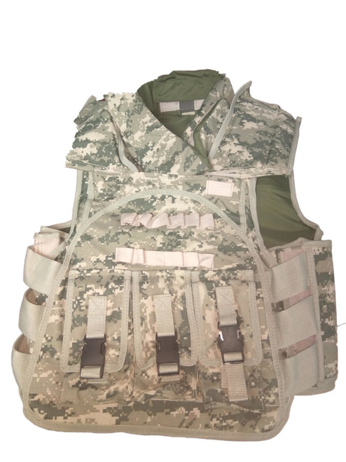 "Hero Brand Foam Padded ""Flak"" Vest"
