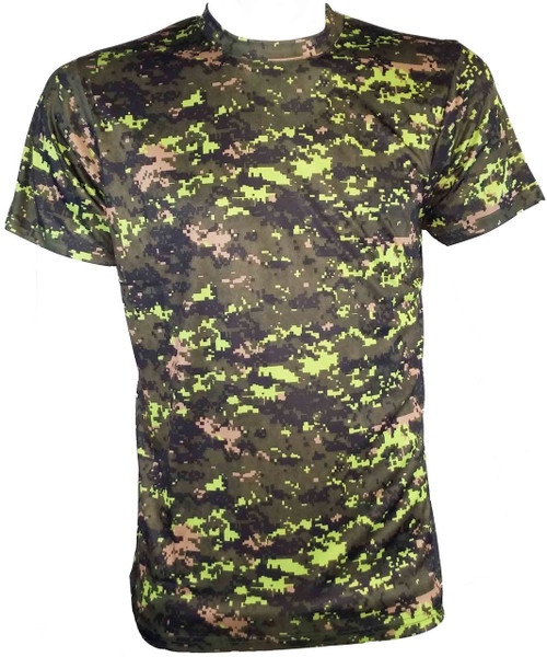 Hero Brand Camouflage T-shirt - Canadian Digital Pattern