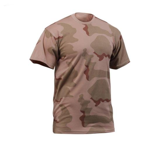 Hero Brand Camouflage T-Shirt - 3 Colour Desert