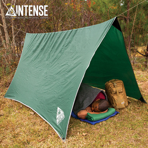 Intense Waterproof Camping Tent/Tarp & Carry Bag