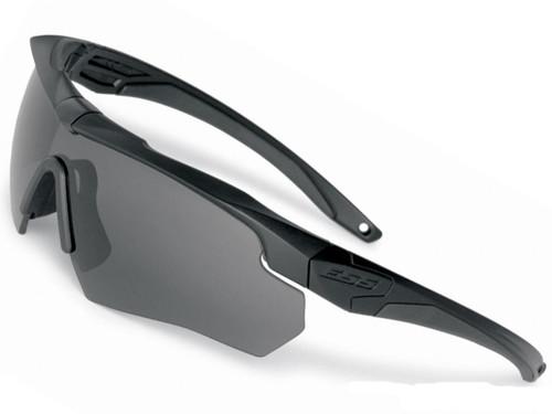 d12c0efad8f ESS Crossbow Ballistic Eyeshield Package (Color  Black Frame   Smoke Gray  Lenses)