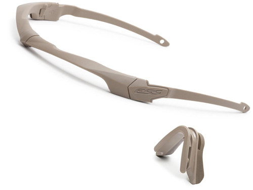 ESS Crossbow Suppressor Hearing Pro and Comms Compatible Frame Set (Color: Terrain Tan)