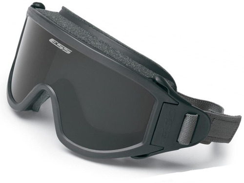 ESS Flight Deck Ballistic Goggle (Color: Gray / Smoke Gray Lens)