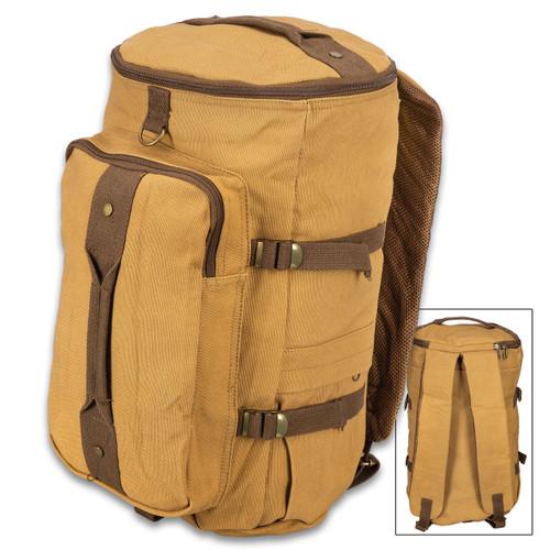Convertible Duffel & Backpack