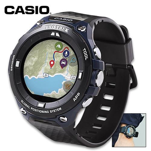 Casio ProTek Smart Watch - Built-In GPS