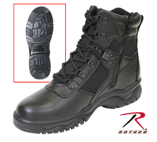 "Blood Pathogen Tactical Boot 6"" - Black"