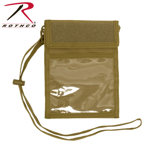 Deluxe ID Holder - Coyote Brown