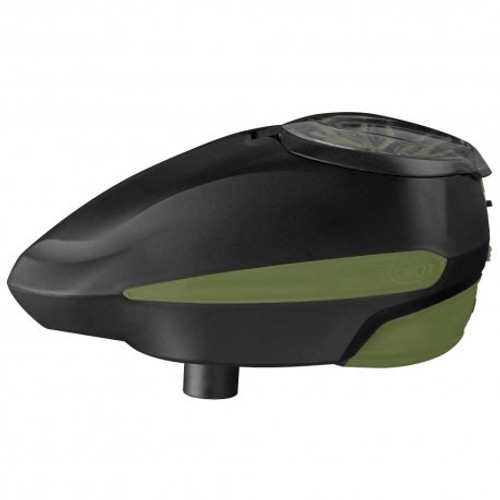 GI Sportz LVL Level Paintball Hopper - Olive/Black