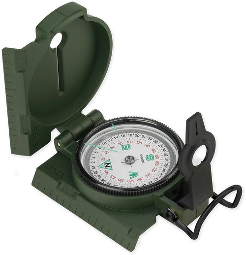 Lensatic Compass Plastic Case