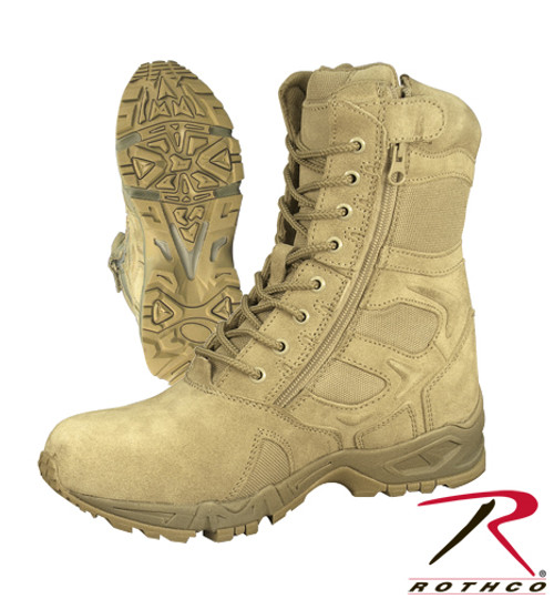 Forced Entry Deployment Boots - Desert Tan