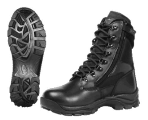 Ridge Footwear 8 Inch Blackhawk Zipper Boots