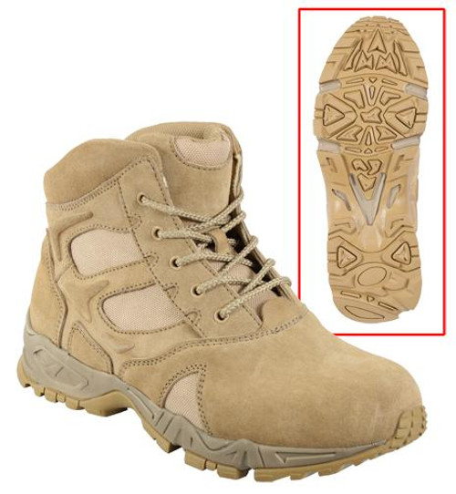 "Forced Entry Deployment Boots 6"" - Desert Tan"