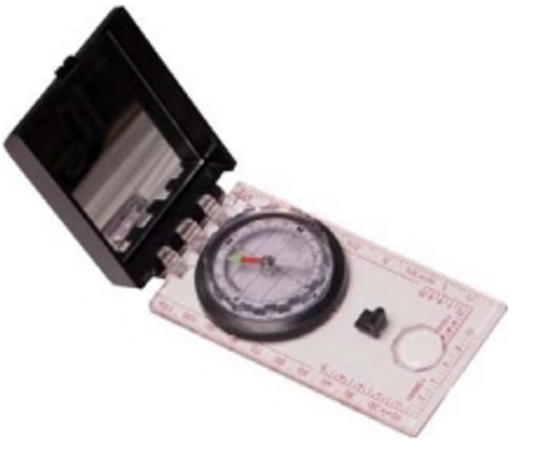 Ranger-Type Liquid Filled Sighting Compass