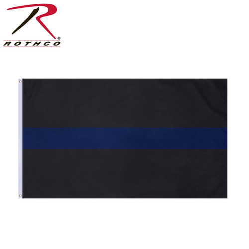 Rothco Thin Blue Line Flag