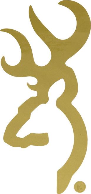 Buckmark Decal Gold