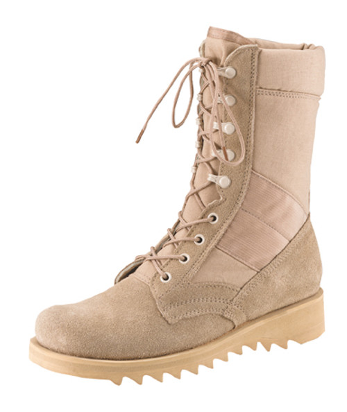 GI Type Wave Sole Boots - Desert Tan