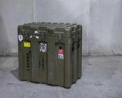 """U.S. Armed Forces Issue Hard Sided Transport Case - 30.5""""x20.5""""x24.5"""""""
