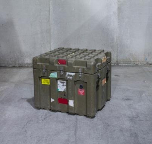 """U.S. Armed Forces Issue Hard Sided Transport Case - 40""""x32""""x24"""""""