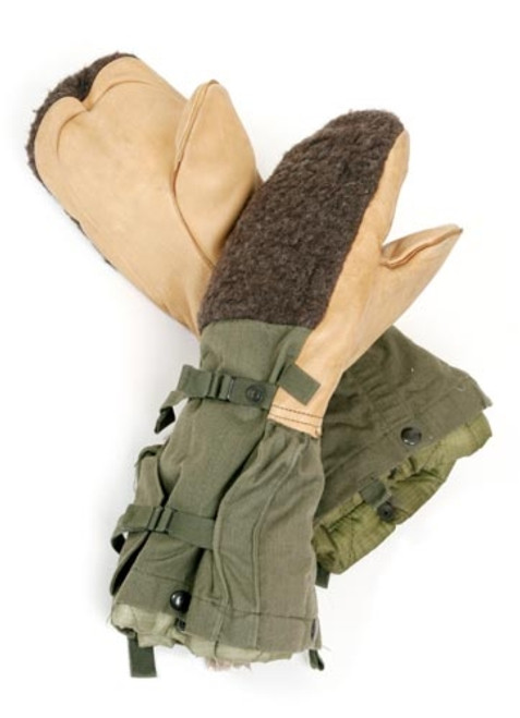 U.S. Armed Forces Arctic Winter Mitts - Olive