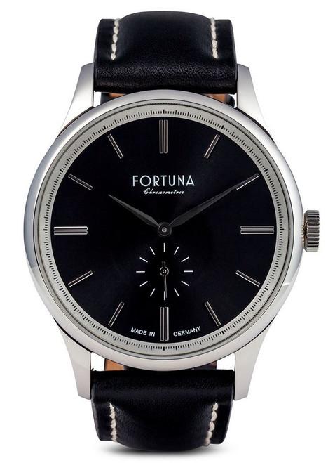 Fortuna Chronomaster 43mm Small Seconds Black Dial - CM72460
