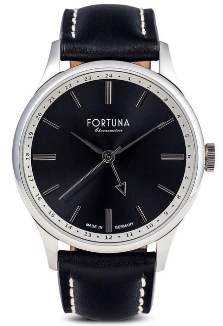 Fortuna Chronomaster GMT 43mm Black Dial - CM72465