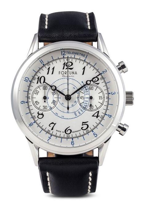 Fortuna Senator Chronograph Cream Dial 42mm - SN72430