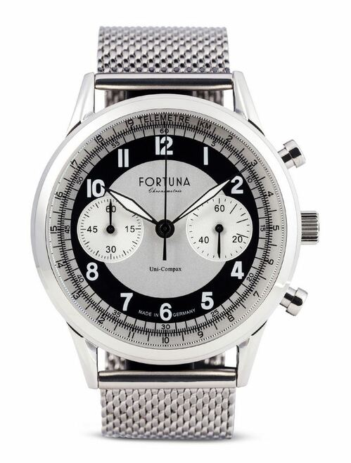 Fortuna Senator Chronograph Cream/Black Dial 42mm - SN72420M