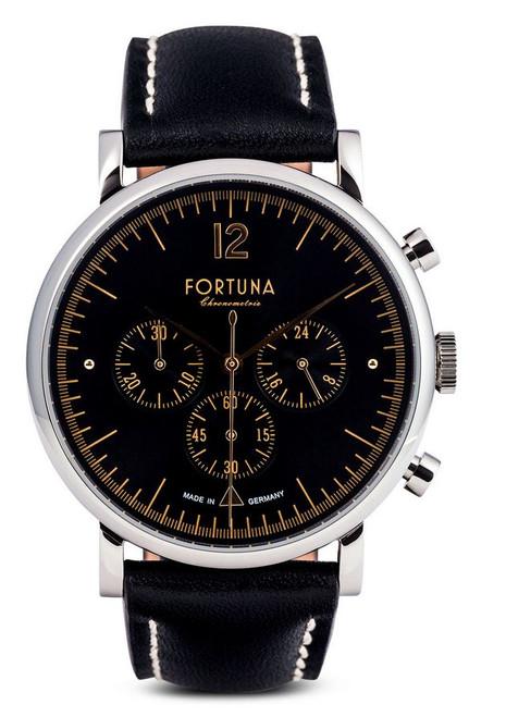 Fortuna The 50's Club Chronograph Black Dial - TH72432