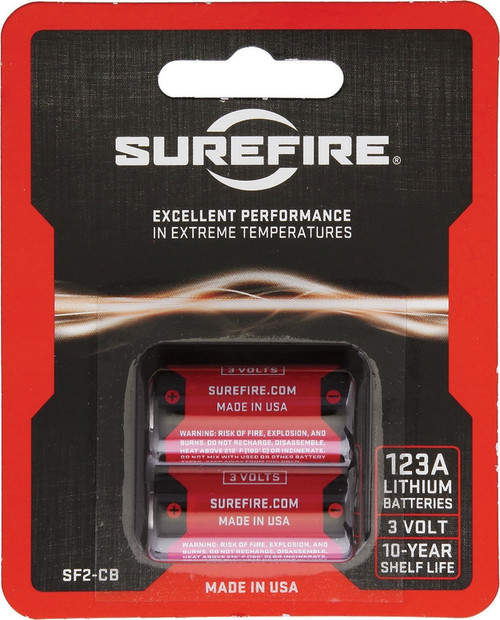 123A Batteries Pack of 2