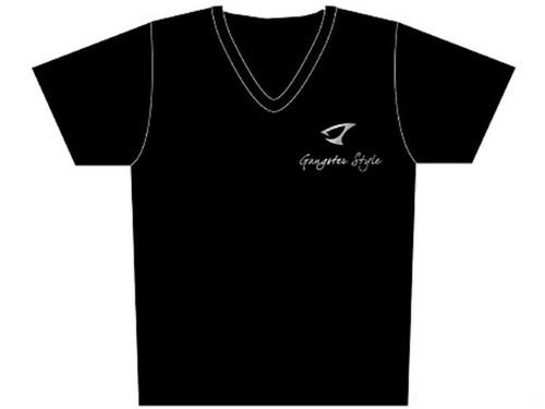 "Jigging Master ""Gangster Style"" Short Sleeve Athletic Mesh Knit Shirt (Color: Black / 2X-Large)"