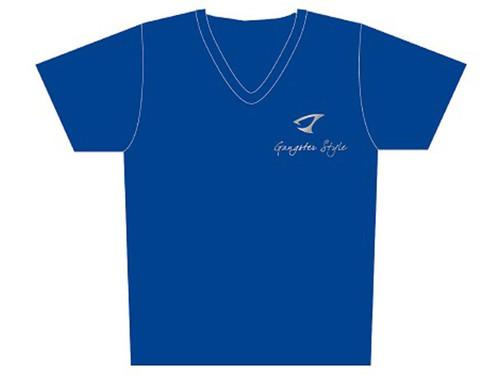 "Jigging Master ""Gangster Style"" Short Sleeve Athletic Mesh Knit Shirt (Color: Blue / 2X-Large)"