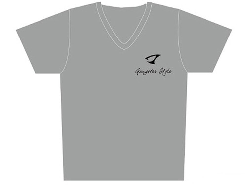 """Jigging Master """"Gangster Style"""" Short Sleeve Athletic Mesh Knit Shirt (Color: Gray / 2X-Large)"""