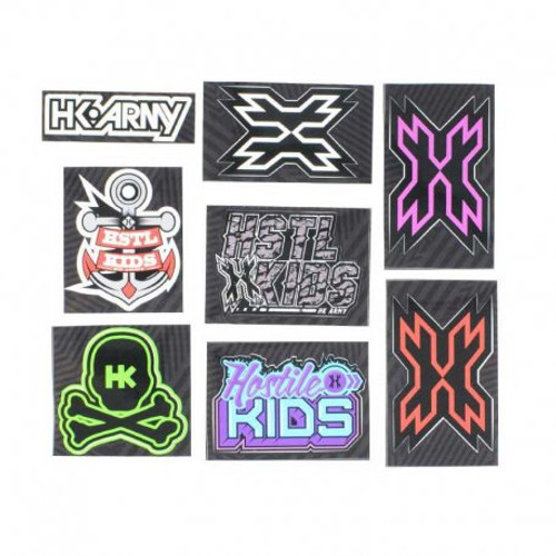 HK Army Race Sticker Pack