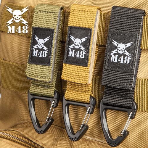 M48 Three-Pack Black Tactical Clips