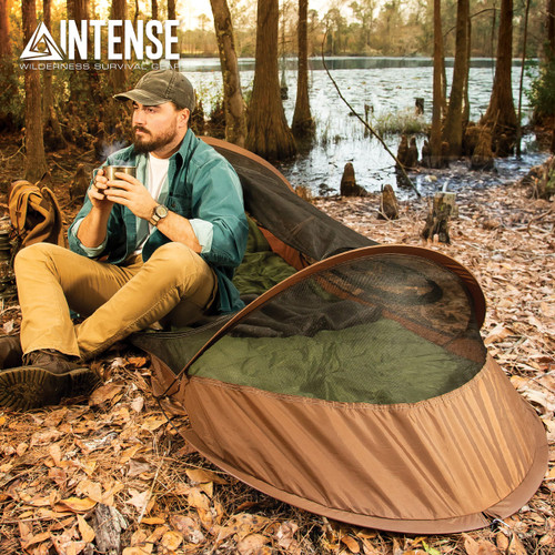 Intense Pop-Up Bivy Tent With Backpack