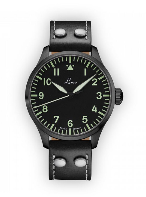 Laco Basic Pilot Watch 42mm Automatic Altenburg 861760.2 Type A